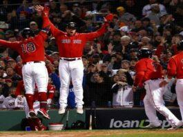 Medias Rojas apalean a los Astros