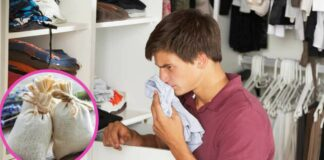 mal olor de un closet