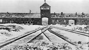 Entrada al campo de concentración alemán