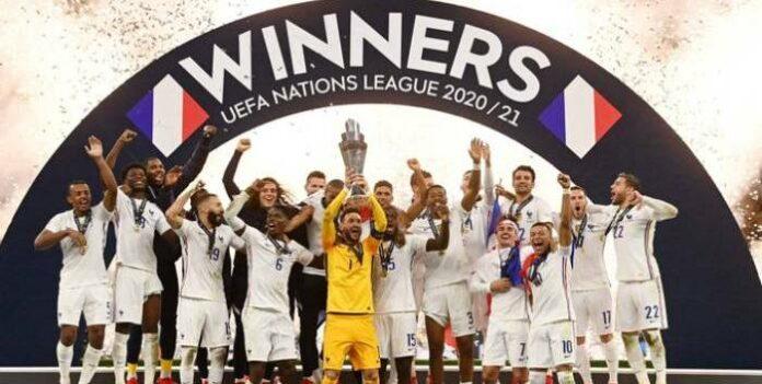 Francia ganó la Liga de Naciones