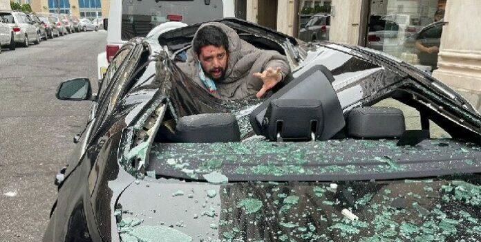 hombre cayó desde rascacielos en Nueva Jersey