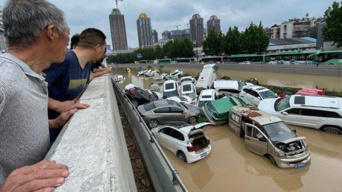 inundaciones en el centro de China