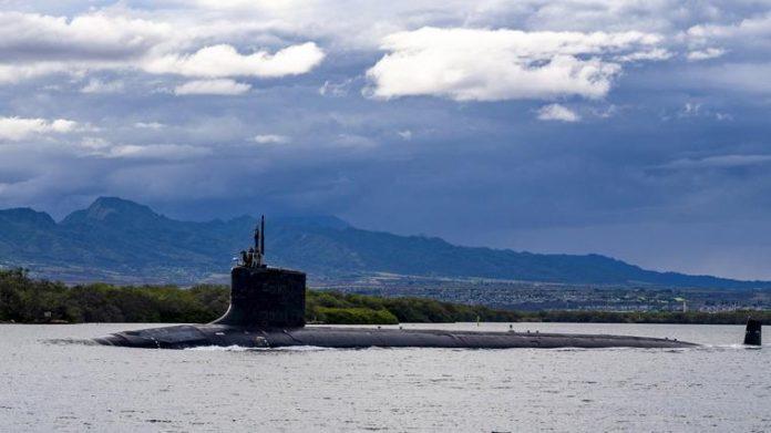 secretos de submarinos nucleares de EEUU